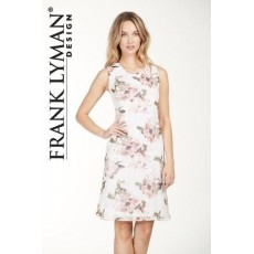 Frank Lyman Dress Khaki/Pink