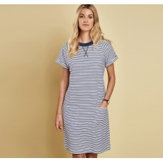 Barbour Monreith Dress White/Navy