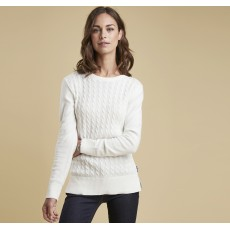 Barbour Prudhoe Knit   Cloud