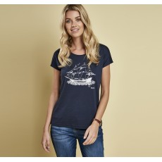Barbour Bamburgh Tee Navy