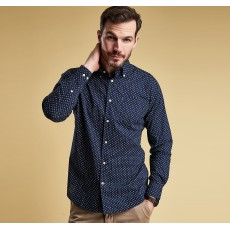 Barbour Curtis Shirt (Tf)  Navy