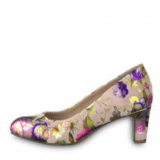 Tamaris Rose Flower Court Shoe