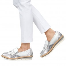 Tamaris White Comb Shoe
