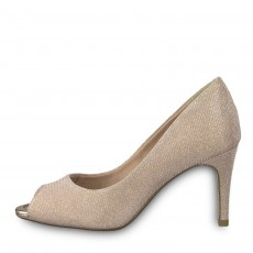 Tamaris Peep Toe Heel Rose Glam