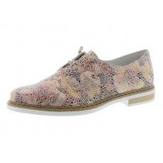 Rieker Savanna Lace Shoe White Floral