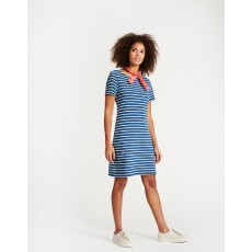 Joules Riviera Short Sleeve Jersey Dress Saltwash