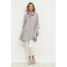 Masai Garden tunic Long sleeve Dove Org