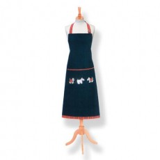 Tartan Terrier Cotton Apron