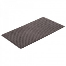 HIGHLINE BATH MAT PEBBLE 60X100