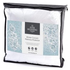 Fine Bedding Aura Winter Cocoon Mattress Protector