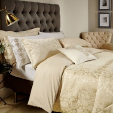 Bedeck Flora Bedding Soft Gold