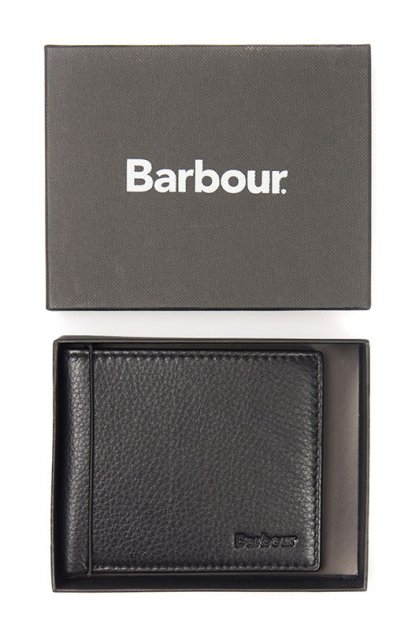 Barbour Standard Wallet Black