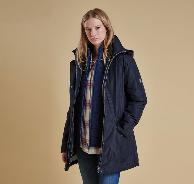 Barbour Winter Trevose Navy