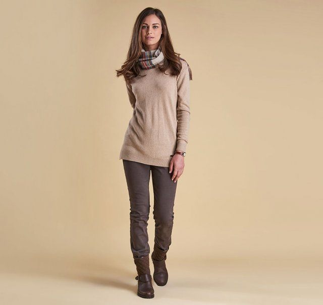 Barbour Meadowsweet Crew Neck Sweater