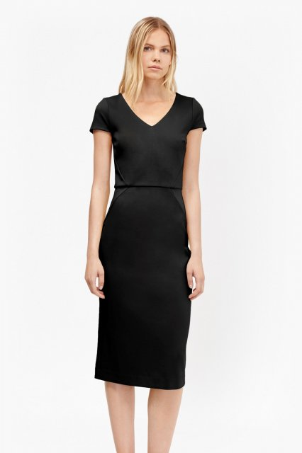 French Connection Lula Dress Black