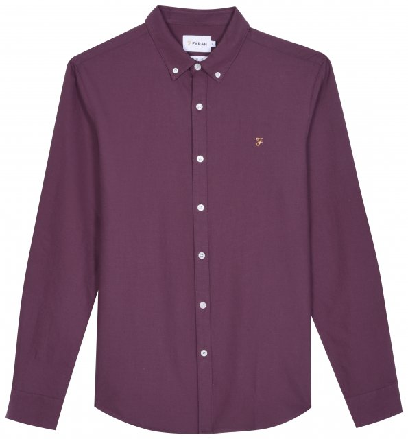 Farah Vintage Brewer Slim LS Shirt
