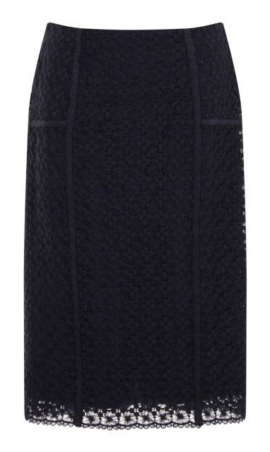 Darling Amara Fitted Skirt Navy