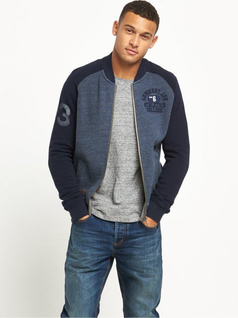 Applique Bomber Flint Navy Marl/Richest Navy