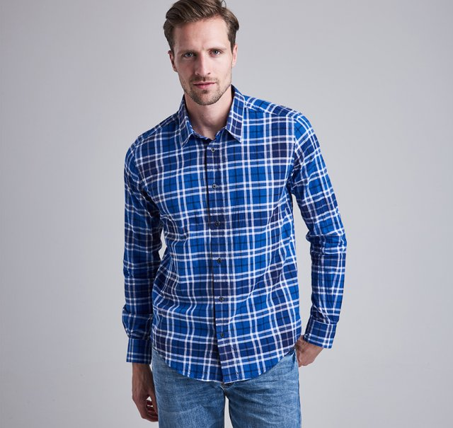 Barbour International  Lime Rock Shirt
