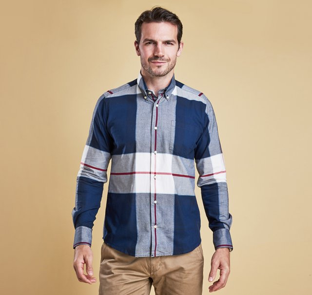 Barbour Kelso Shirt Navy