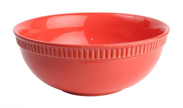 Colour By Numbers Large Bowl Terracotta