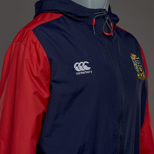 British & Irish Lions  Vaposhield Full Zip Showerproof Jacket