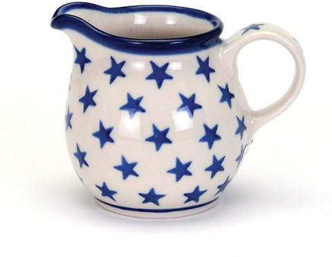 Country Pottery Creamer Morning Star