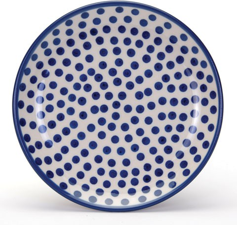 Arty Farty Plate 20cm Small Blue Dots