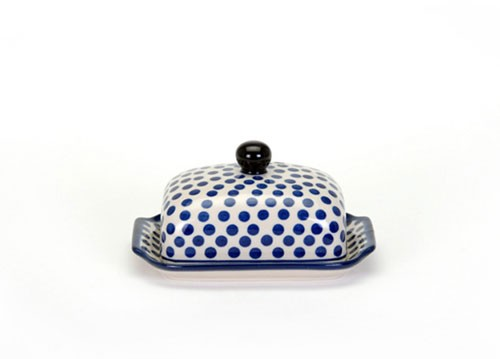 Arty Farty Butter Dish Small Blue Dot