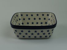 Art Farty Square Dish Morning Star