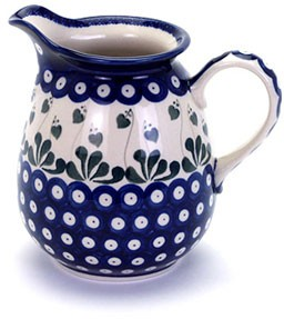 Country Pottery 1L Jug Love Leaf
