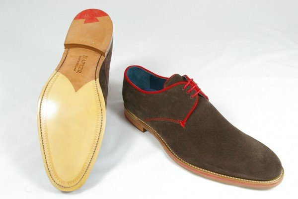 Barker Rebus Shoes Brown