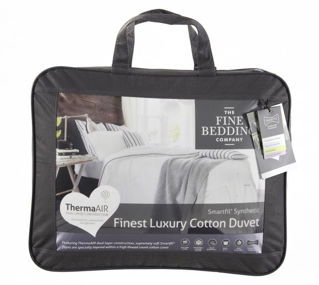 FINEST LUXURY COTTON DUVET 10.5 TOG KING