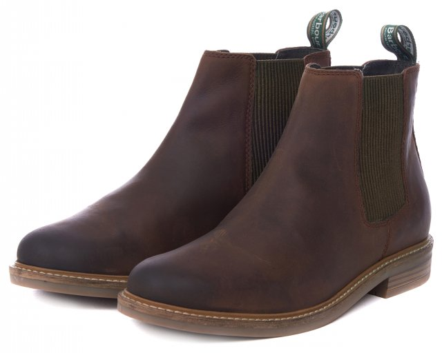 Barbour Farsley Boot Chocolate