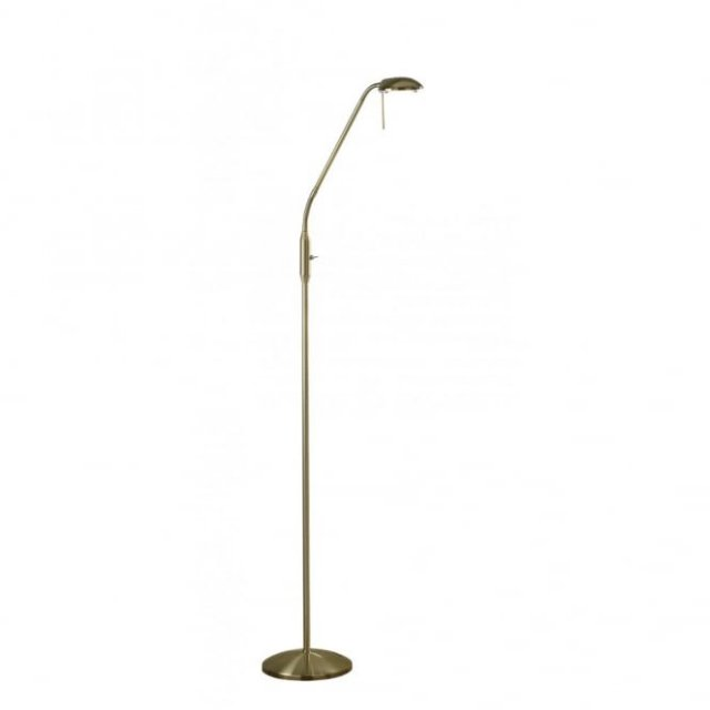 Floor Lamp Antique Brass