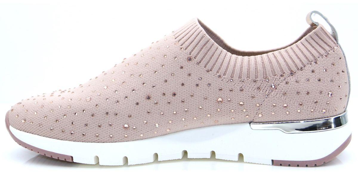 Caprice Rose Knit Sneaker - Plimsolls