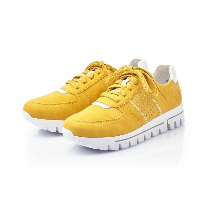 Rieker Yellow/White Trainers