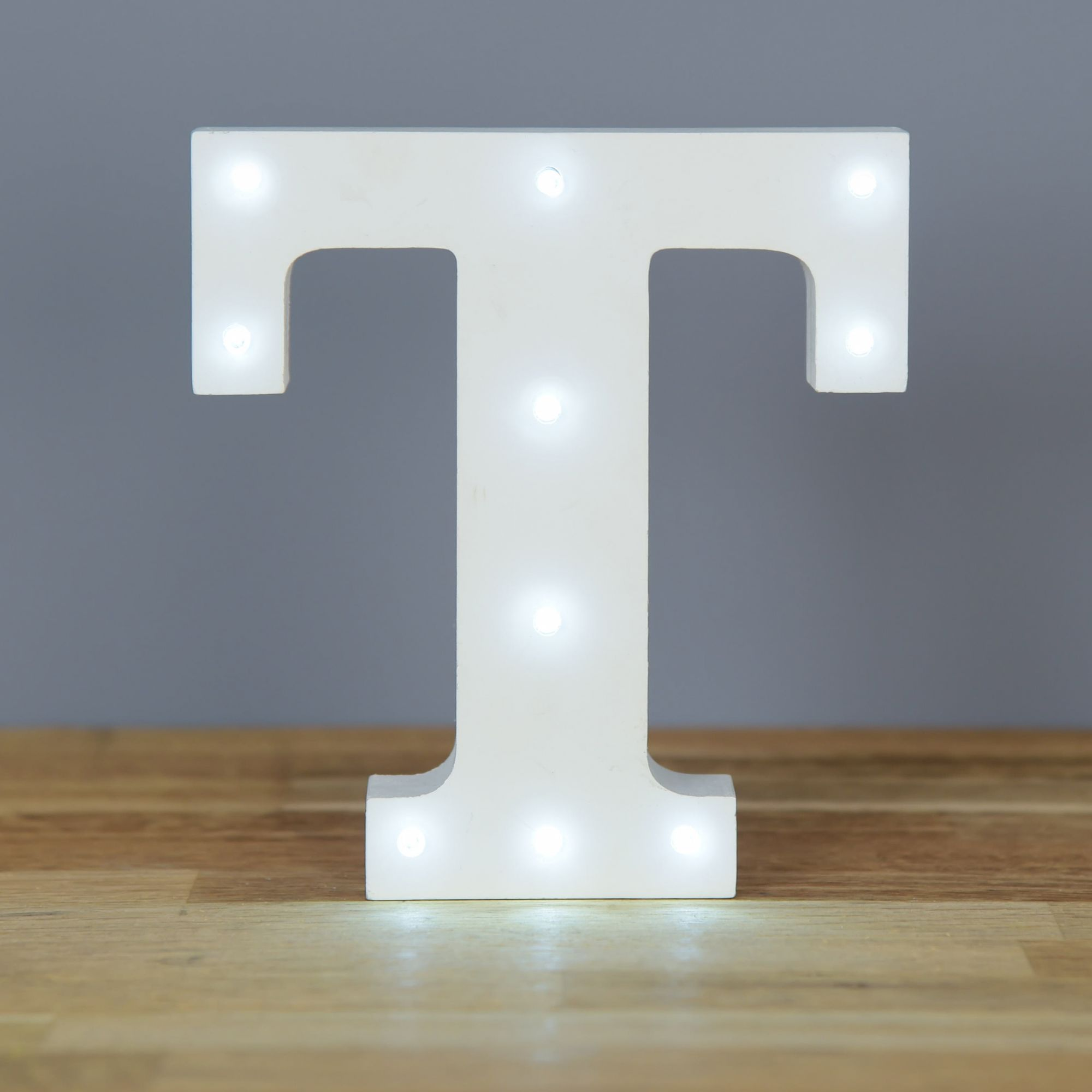 Light Up Letter T Home Decor Barbours