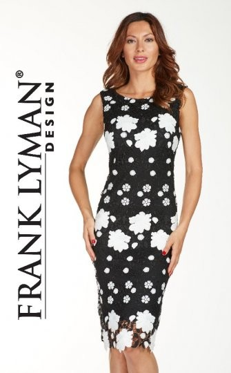 6eee613702 Frank Lyman Dress Black White - Occasionwear - Barbours