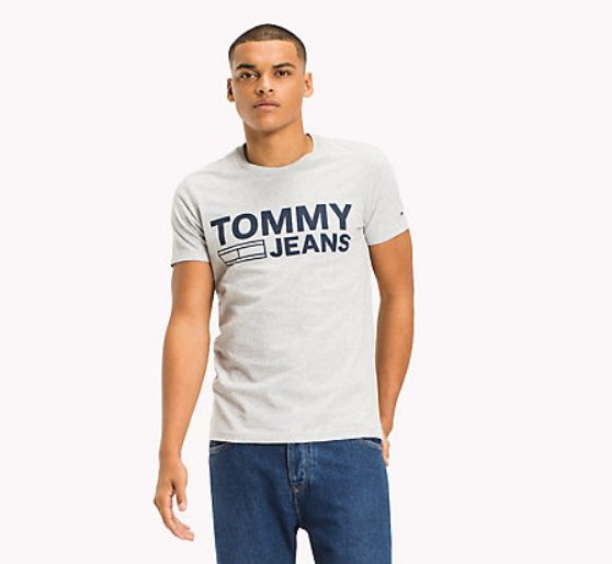 2fa63f39f7 Tommy Hilfiger Denim Basic Crew Neck T-Shirt - T-Shirts - Barbours