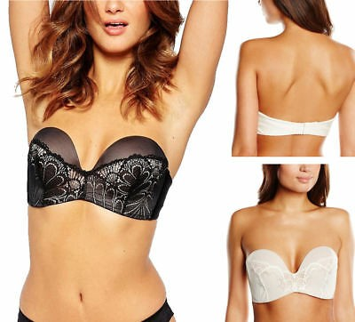 34f49660bf Wonderbra Strapless Lace Glamour Bra - Bras - Barbours