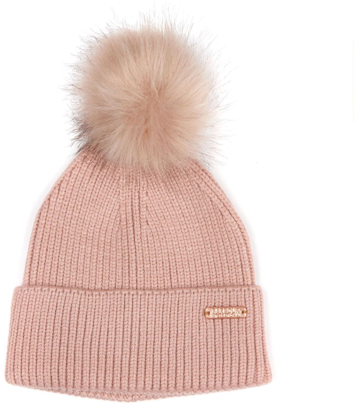 74c6a19640350 Barbour Mallory Pom Beanie Pink - Scarves