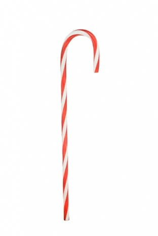 Giant Candy Cane Red White