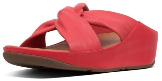 7e0482133 FitFlop Fitflop Twiss Slide Red - Flip Flops - Barbours