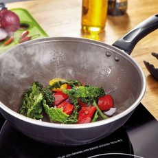 Judge Radiant 24cm Chefs Pan Non-Stick Black