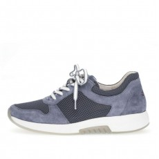 Gabor Mesh Blue Trainers