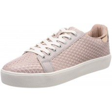 Tamaris Pink Structure Trainers