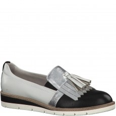 Tamaris Black Loafers