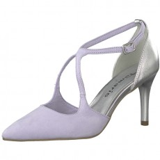 Tamaris Purple and Silver Trend High Heels