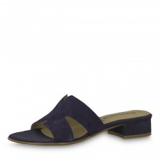Tamaris Navy Slip On Sandals